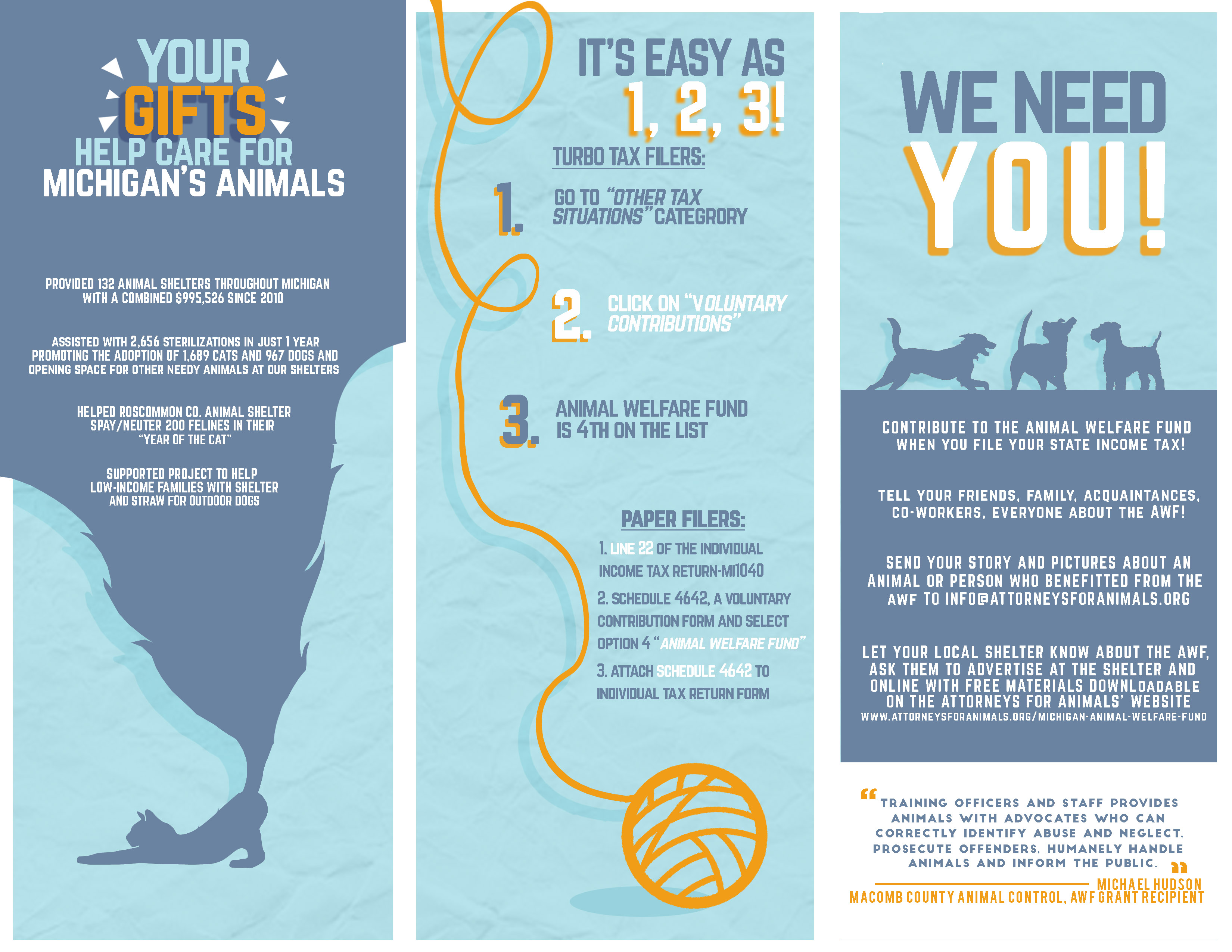 Michigan Animal Welfare Fund: What is it? How can I help ...